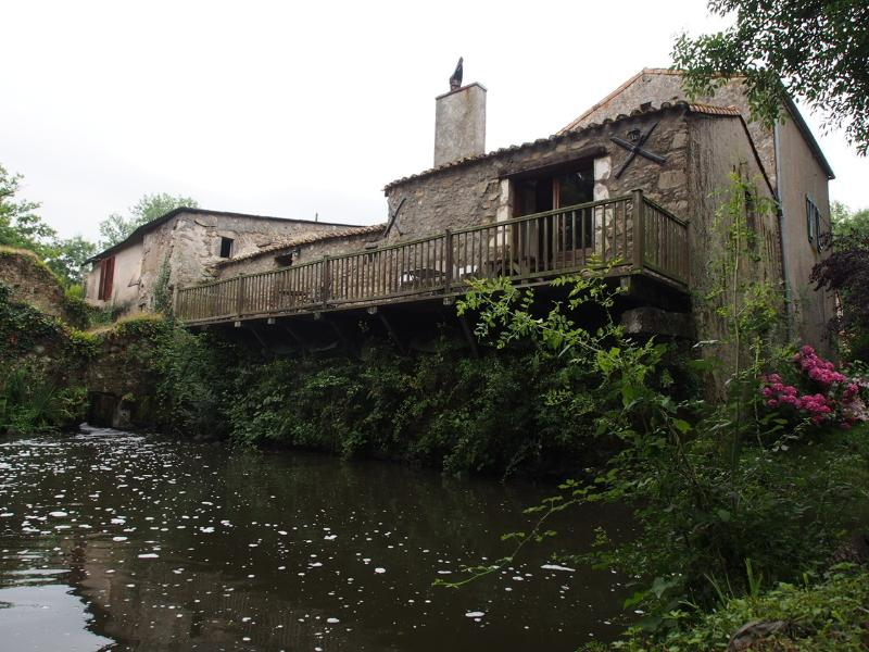 Rear view of The Mill showing the veranda