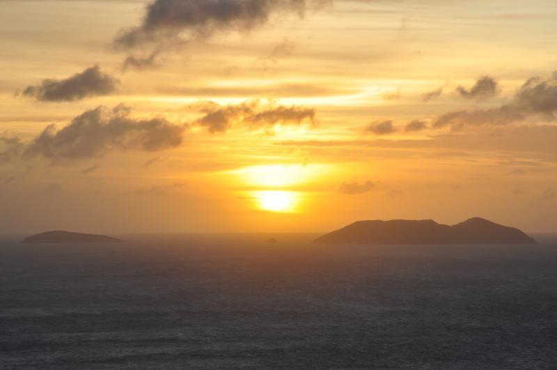 Sunset at Villa Towanda