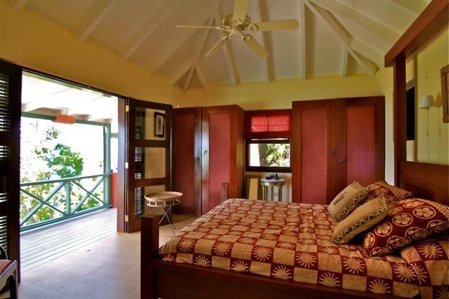 Afrikaanse Master slaapkamer