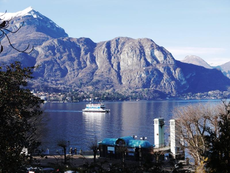 View from Bellagio on Lake Como