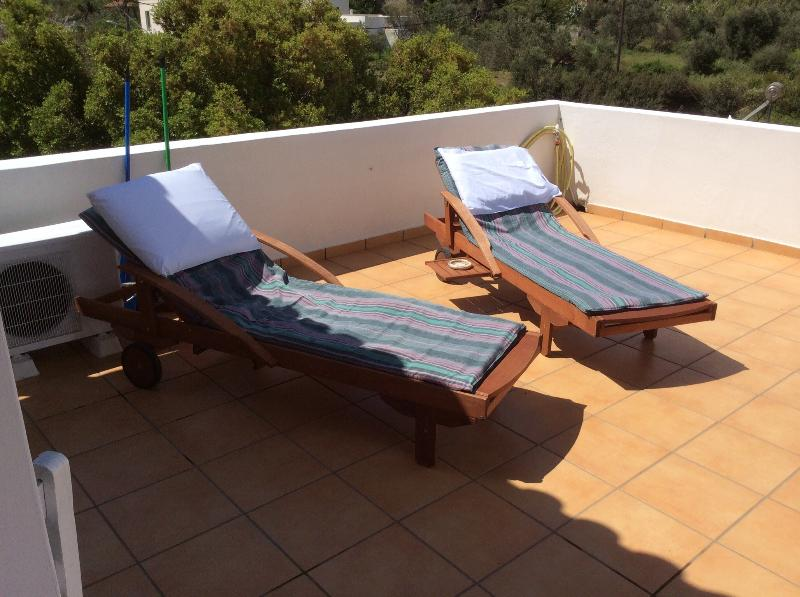 You can have some sun therapy in our private veranda