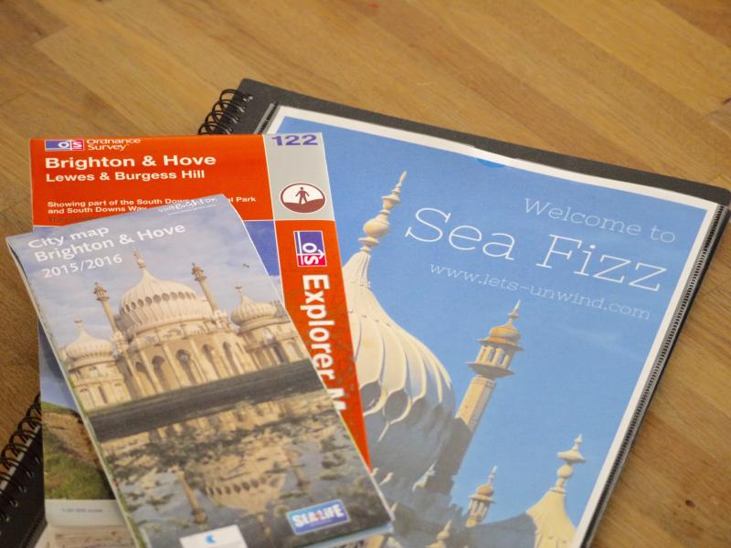 You will find plenty information and maps to help you make the most of the local area.