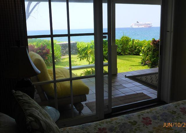 View from Queen bedroom