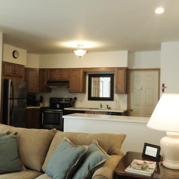 Great Kitchen Space - Open Floor Plan Lower Unit