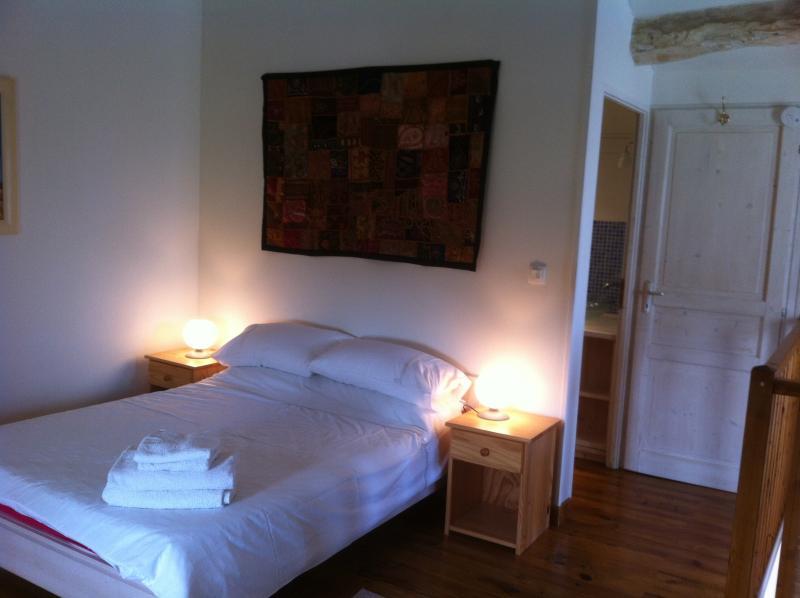 Bedroom and en suite shower room
