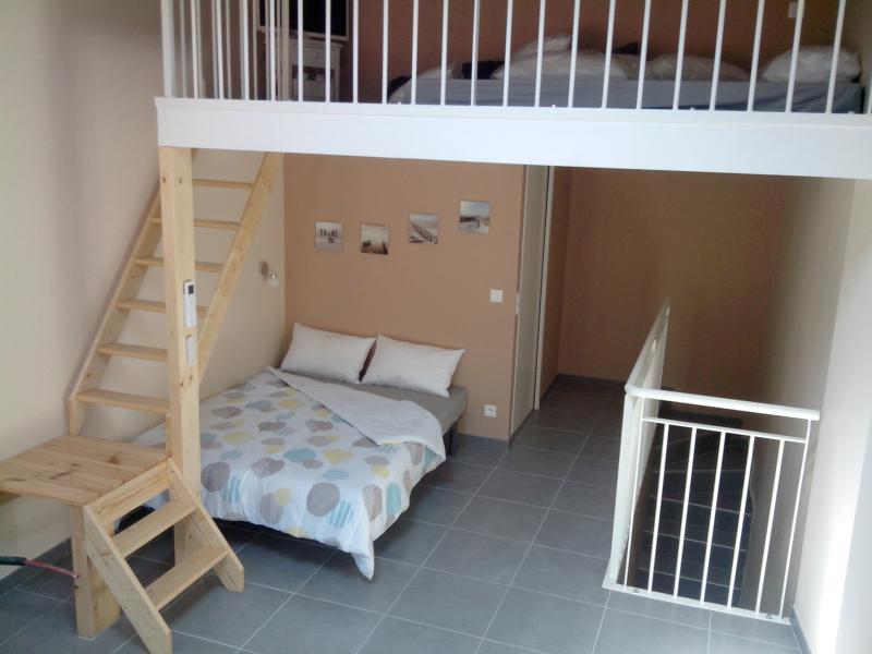 Modern village flat with large balcony, 2 double beds, A/C, WI-FI.
