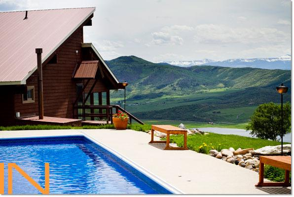 Splash and play in your own private pool with panoramic views of the Yampa Valley