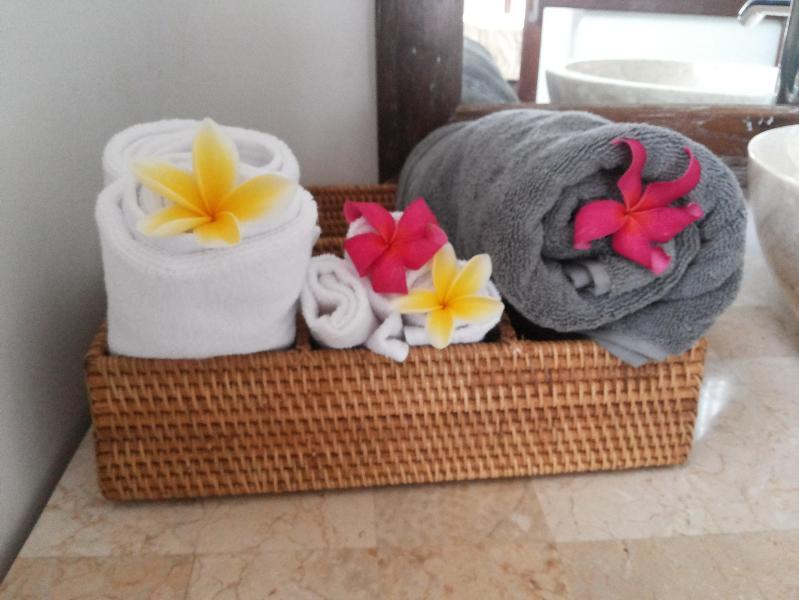 Towel Basket for bathroom
