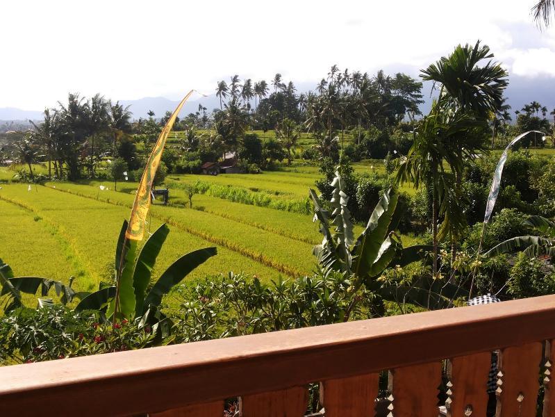 balcony view upstairs