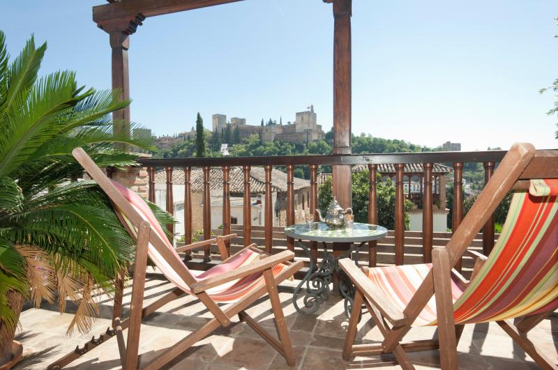 Amazing Alhambra views from your own terrace