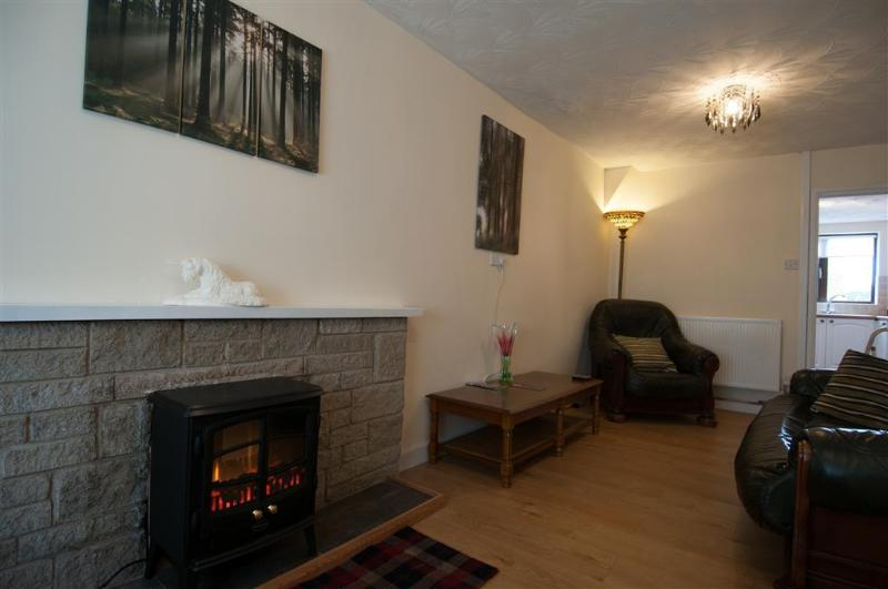 19, Dublin Street next to village square, good eating places, Wi-Fi + FreetimeTV, vacation rental in Porthmadog