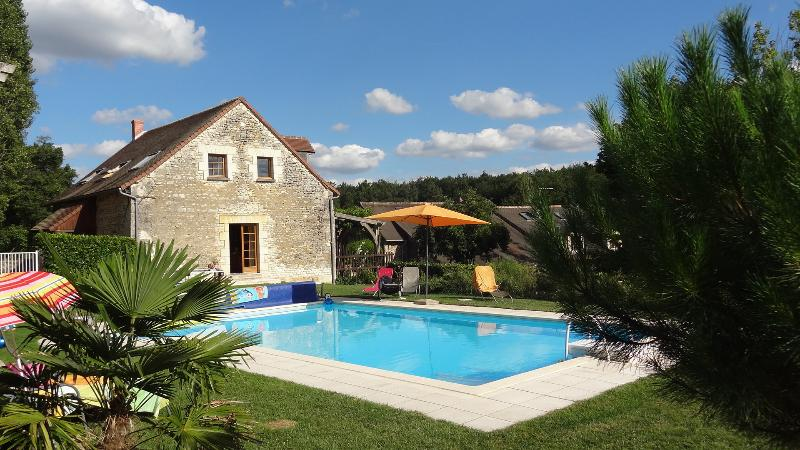 Domaine des Petites Minaudières, charming cottage with pool near the Futuroscope, vacation rental in Vienne