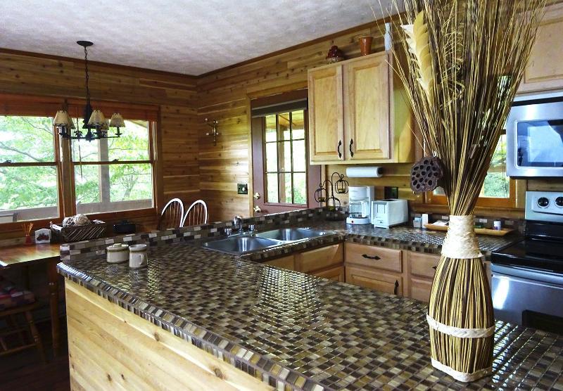 Een aangepaste ontworpen houten hut