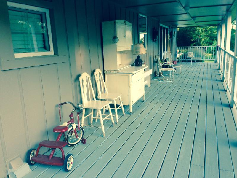 Plenty of room on the front porch