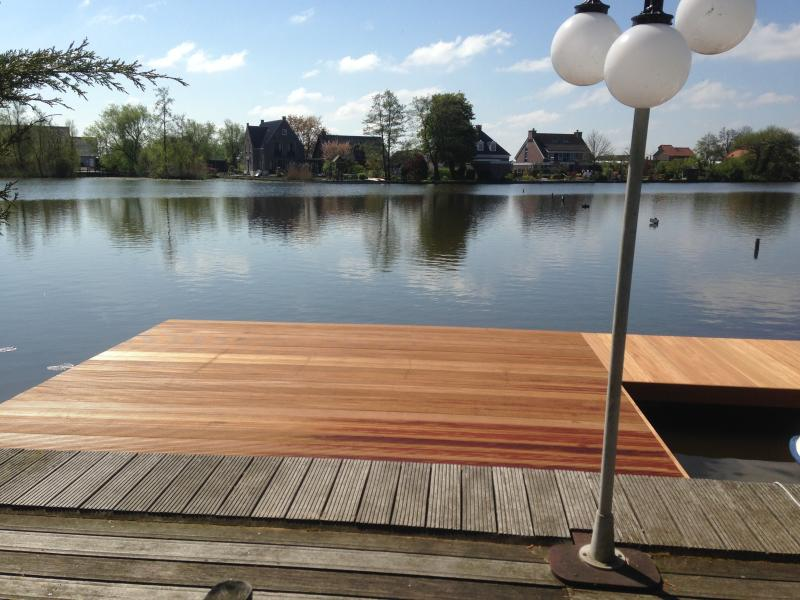 petfriendly fish holliday home Nieuwkoopse plassen in Holland with carps, holiday rental in Noorden