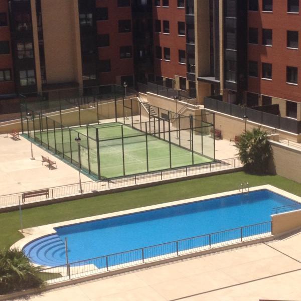 Atico Encantador , Gran Terraza, Piscina, Netflix, WIFI, alquiler de vacaciones en Provincia de Valladolid