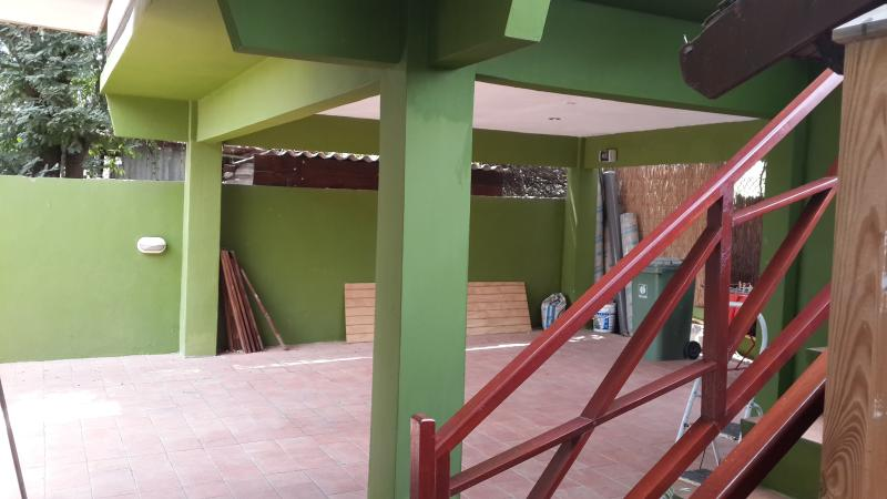 Double carport - free parking space for guests