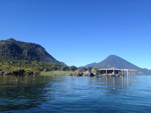 Kayaking on Lake Atitlan