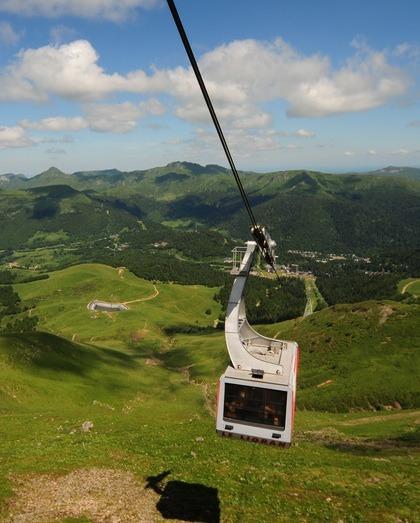 Station de ski Le Lioran, l'été