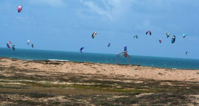 The seaside town of extreme sports