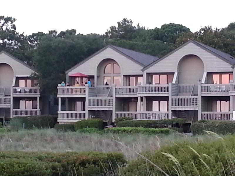 Villas from Beach