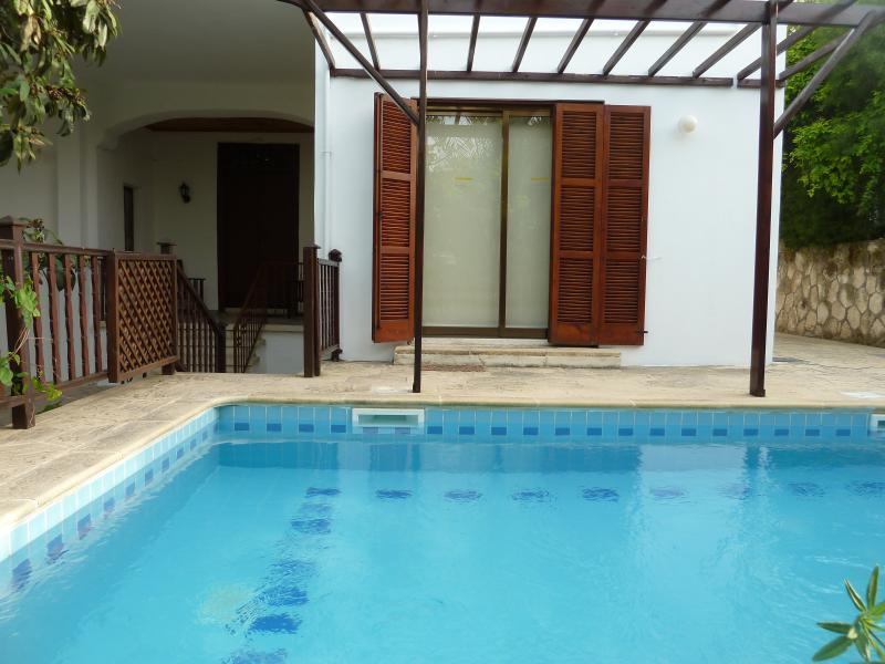 Pool and Kitchen door