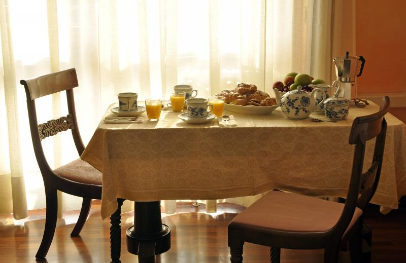 Desayuno rico en Italiano