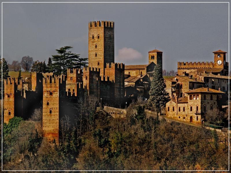 vista di Castell'Arquato