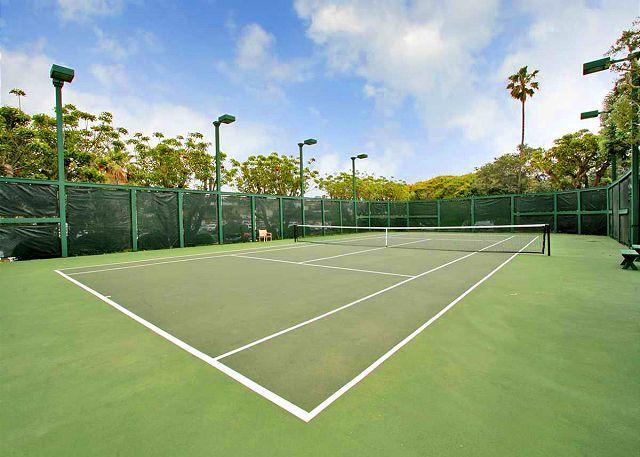 Canchas de tenis complejas