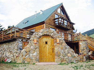 Luxury 6 bedroom cabin between Red River and Angle, vacation rental in Eagle Nest