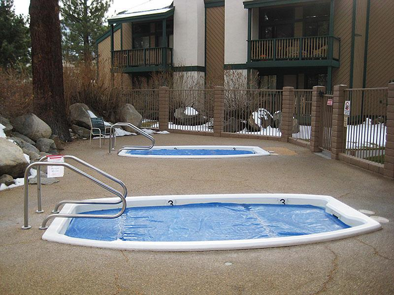 Sherwin Villas Outdoor Spas (Year-Round)
