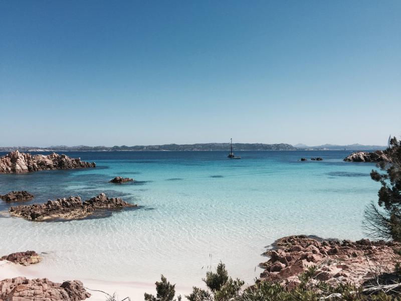 De schoonheid van de stranden van de archipel van La Maddalena