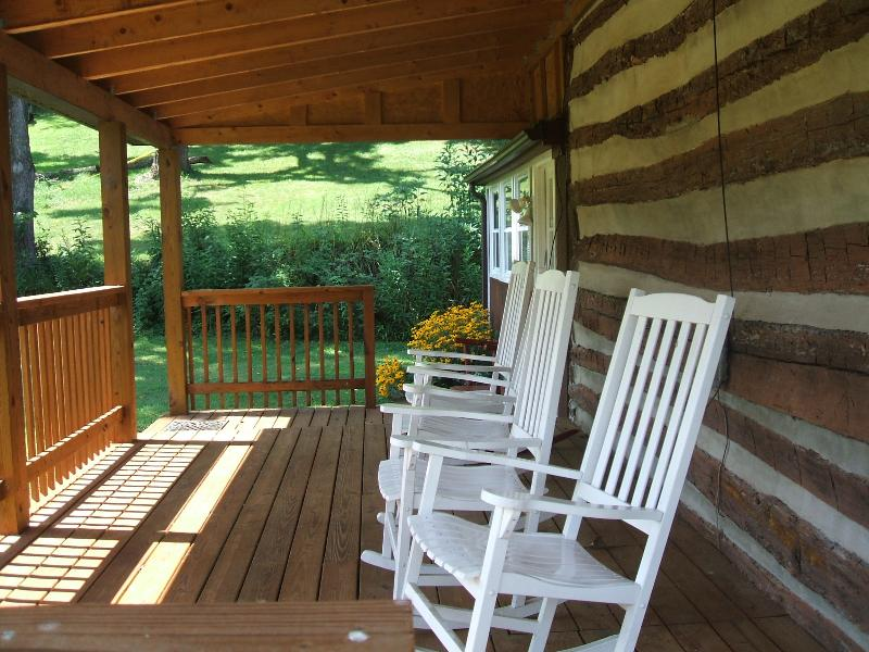 Every porch needs rockers. These are very soothing to enjoy a cup of coffee or tea in the morning.