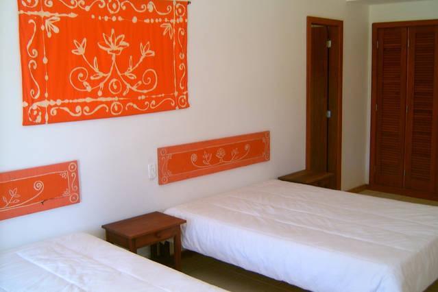 Suite com duas camas de casal
