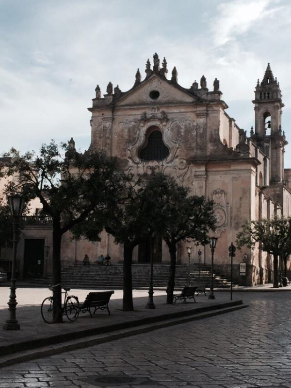 Piazza Pisanelli- Tricase
