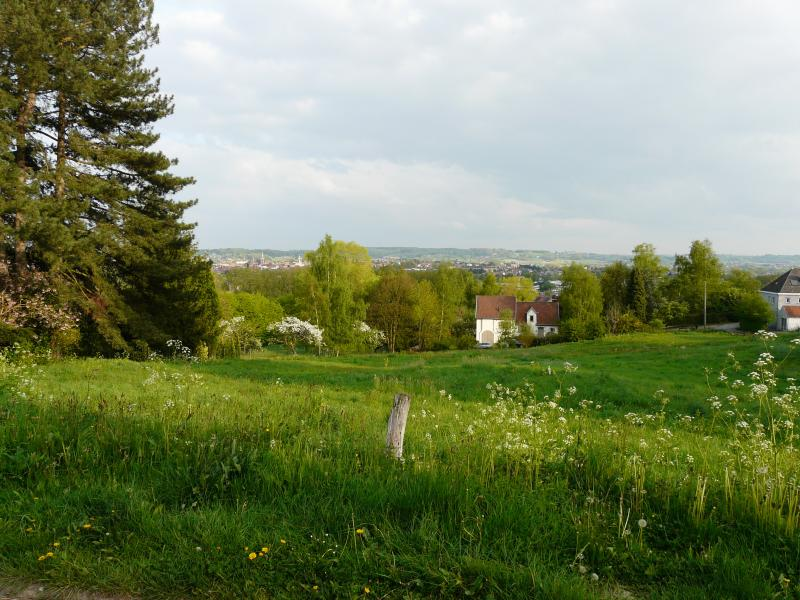 View from the house over the city of Ronse