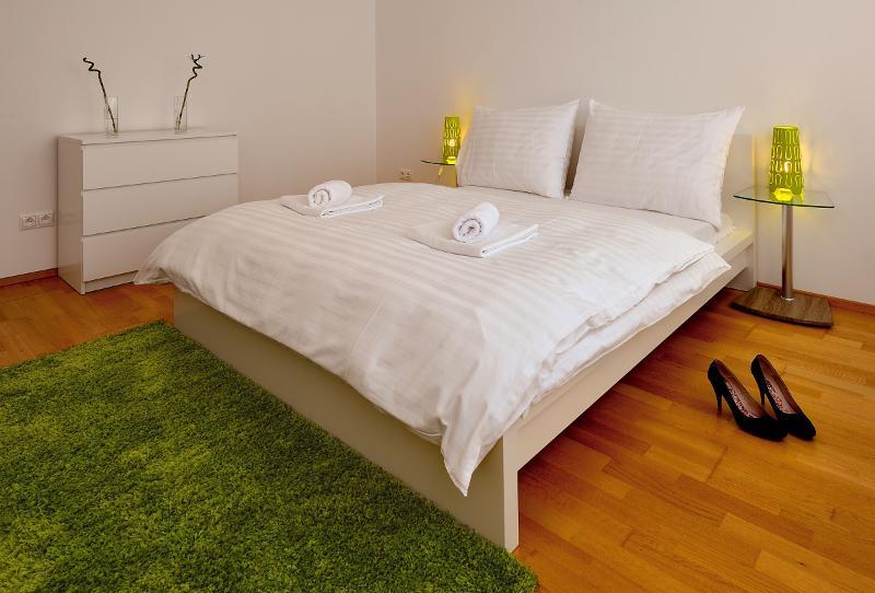 Deluxe 1 BDR apartment 29 Augusta Street 36C, holiday rental in Bratislava Region