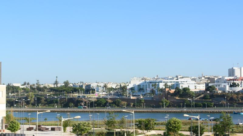 View from the balcony / Vue depuis le balcon