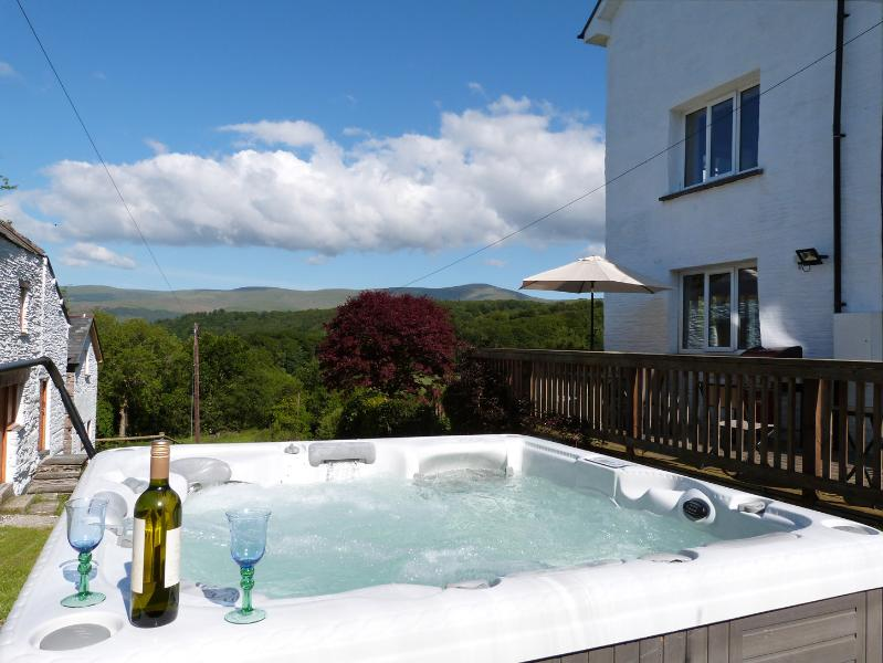 Bain à remous avec une vue - l'endroit idéal pour des vacances reposantes