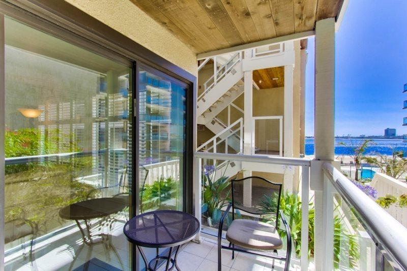 Patty`s Riviera Villas Condo - Balcony with bay view.