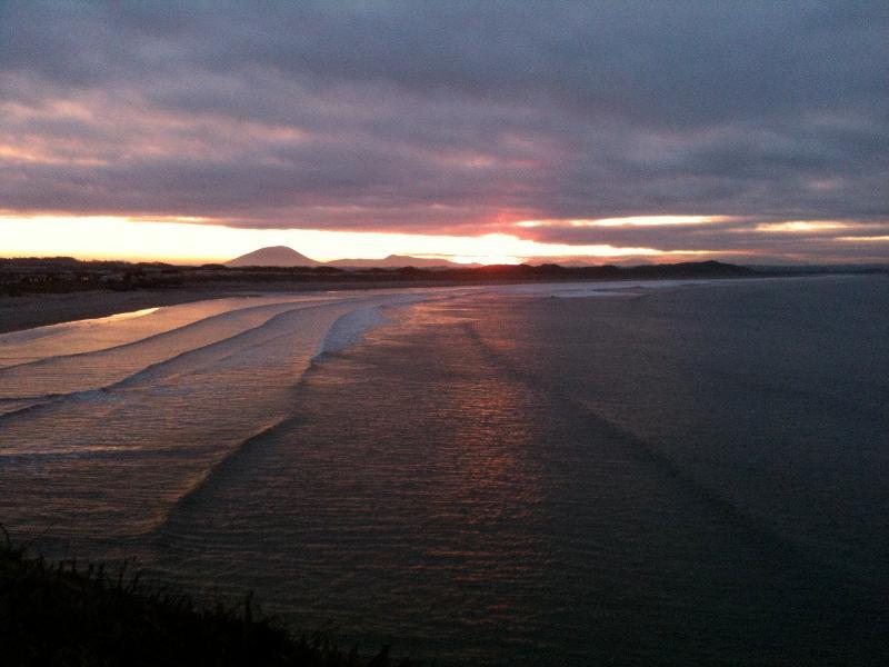 Winter sunset, taken from outside Kilcullen's Seaweed Baths in Enniscrone last February.