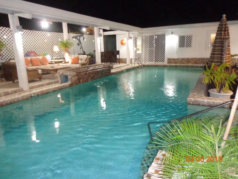 Quiet nights in the Tropics......