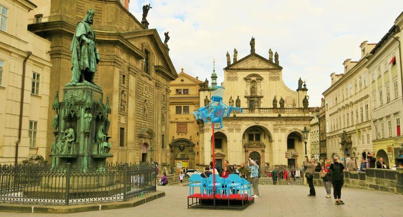 Prague is metropole of art