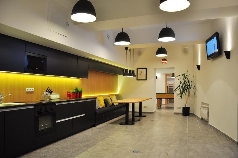 Bomb Shelter apartment  in the center of Vilnius (free parking, spa), vacation rental in Vilnius