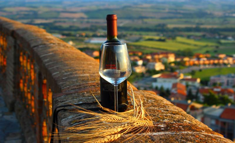Excellent local wines