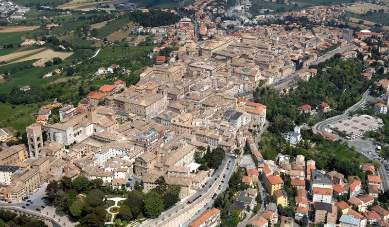 Aerial view of Osimo