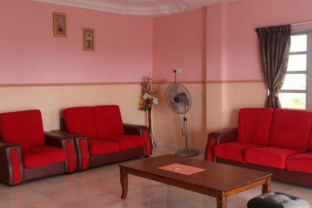 Sekinchan sommaren Resort vardagsrum 2