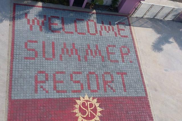 Sekinchan sommaren Resort golv