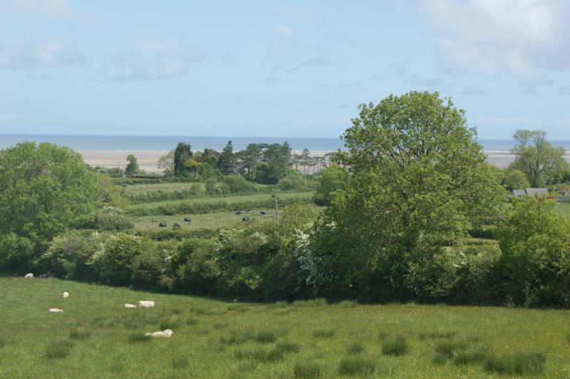 View from the garden - overlooking Red Wharf Bay