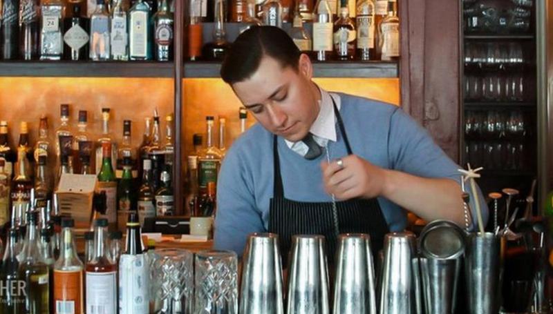 Taverne de palissade a été récemment présenté dans le Magazine Vogue